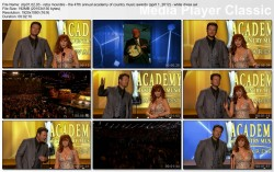 REBA McENTIRE - 2012 ACM awards - WHITE DRESS VIDEO (HD)!! - with vidcaps
