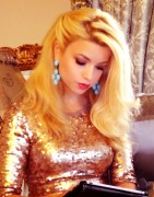 Masiela Lusha - couple of new gorgeous and golden personal pics