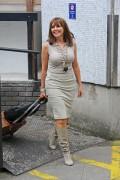 Carol Vorderman In A Tight Dress