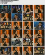 Lisa Edelstein - Lopez Tonight - Aug 18, 2010 - Leggy